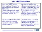 the ieee president1