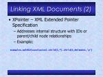 linking xml documents 2