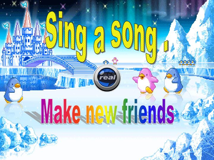Sing a song .
