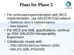 plans for phase 2