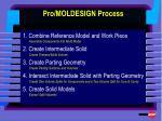 pro moldesign process