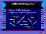 what is pro moldesign