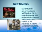 new sectors