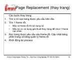 page replacement thay trang