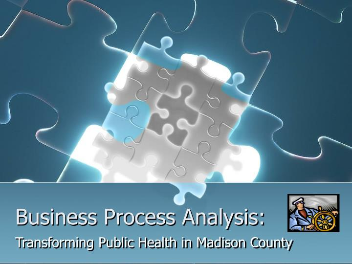 business process analysis n.