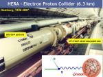 hera electron proton collider 6 3 km
