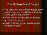 the modern grand council