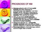 prognosis of nm