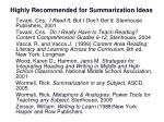 highly recommended for summarization ideas3
