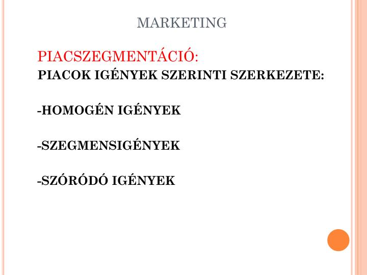marketing n.