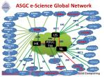 asgc e science global network