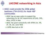 lhcone networking in asia