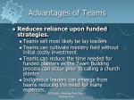 advantages of teams1
