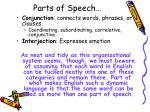 parts of speech2