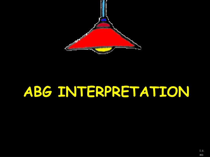 abg interpretation n.