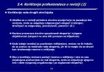 5 4 kori enje profesionalaca u reviziji 2