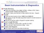 beam instrumentation diagnostics