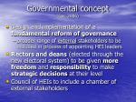 governmental concept dec 2006