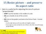 resize picture and preserve its aspect ratio