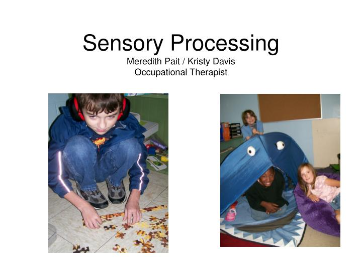 sensory processing meredith pait kristy davis occupational therapist n.