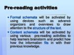 pre reading activities1