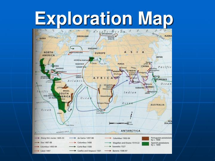 Exploration map