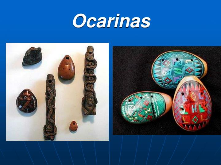 Ocarinas
