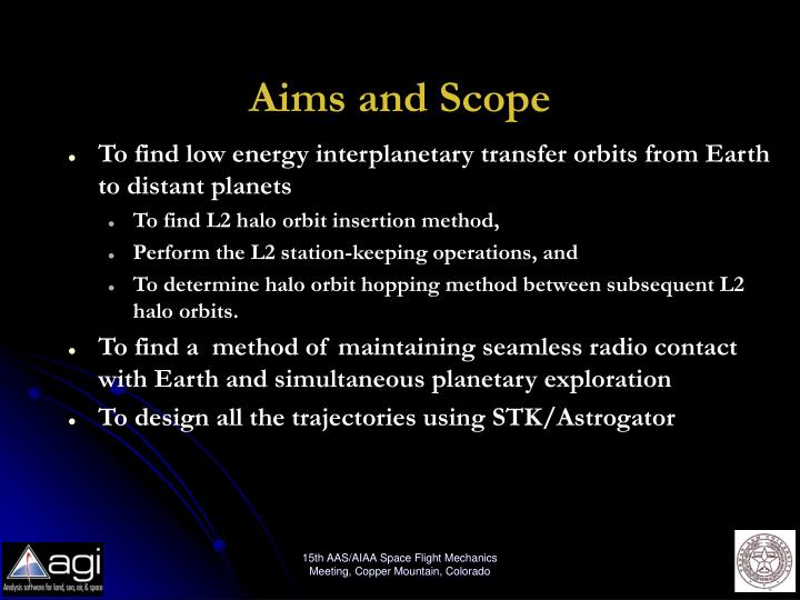 Aims and Scope
