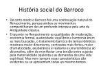 hist ria social do barroco