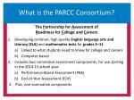 what is the parcc consortium
