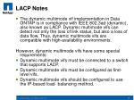 lacp notes
