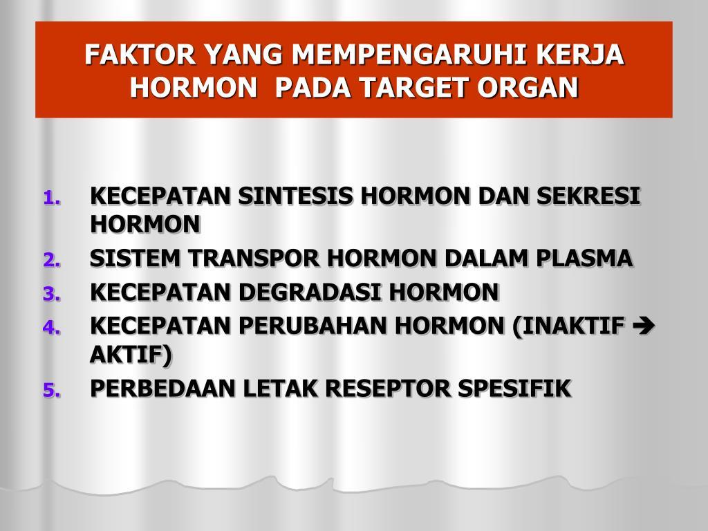 PPT - DIFINISI HORMON SEJARAH HORMON KLASIFIKASI HORMON ...