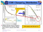 cdf charged p t distribution