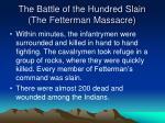 the battle of the hundred slain the fetterman massacre2