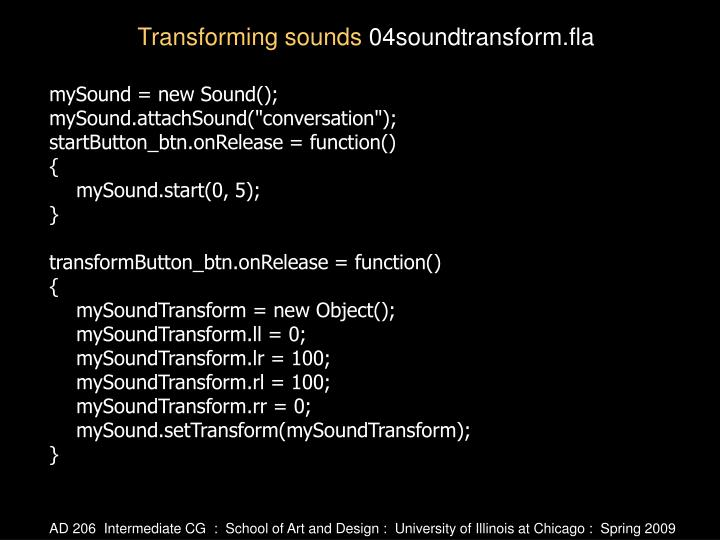 mySound = new Sound();