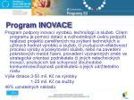 program inovace