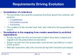 requirements driving evolution2