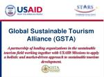 global sustainable tourism alliance gsta