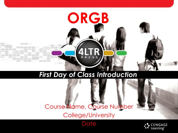 orgb first day of class introduction n.