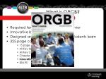 what is orgb