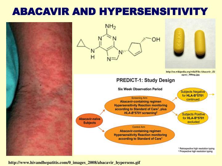 ABACAVIR AND HYPERSENSITIVITY
