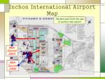 inchon international airport map