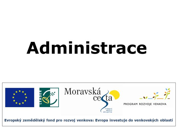 Administrace