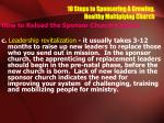 10 steps to sponsoring a growing healthy multiplying church24