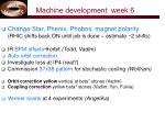 machine development week 6