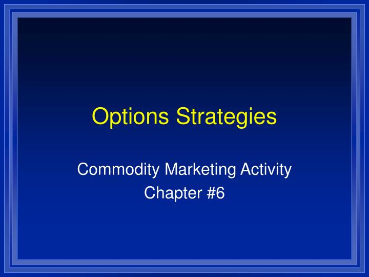 options strategies n.