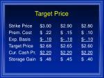 target price1