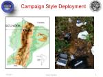 campaign style deployment