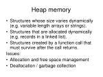 heap memory
