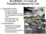 alh84001 4 lines of possible evidence for life1